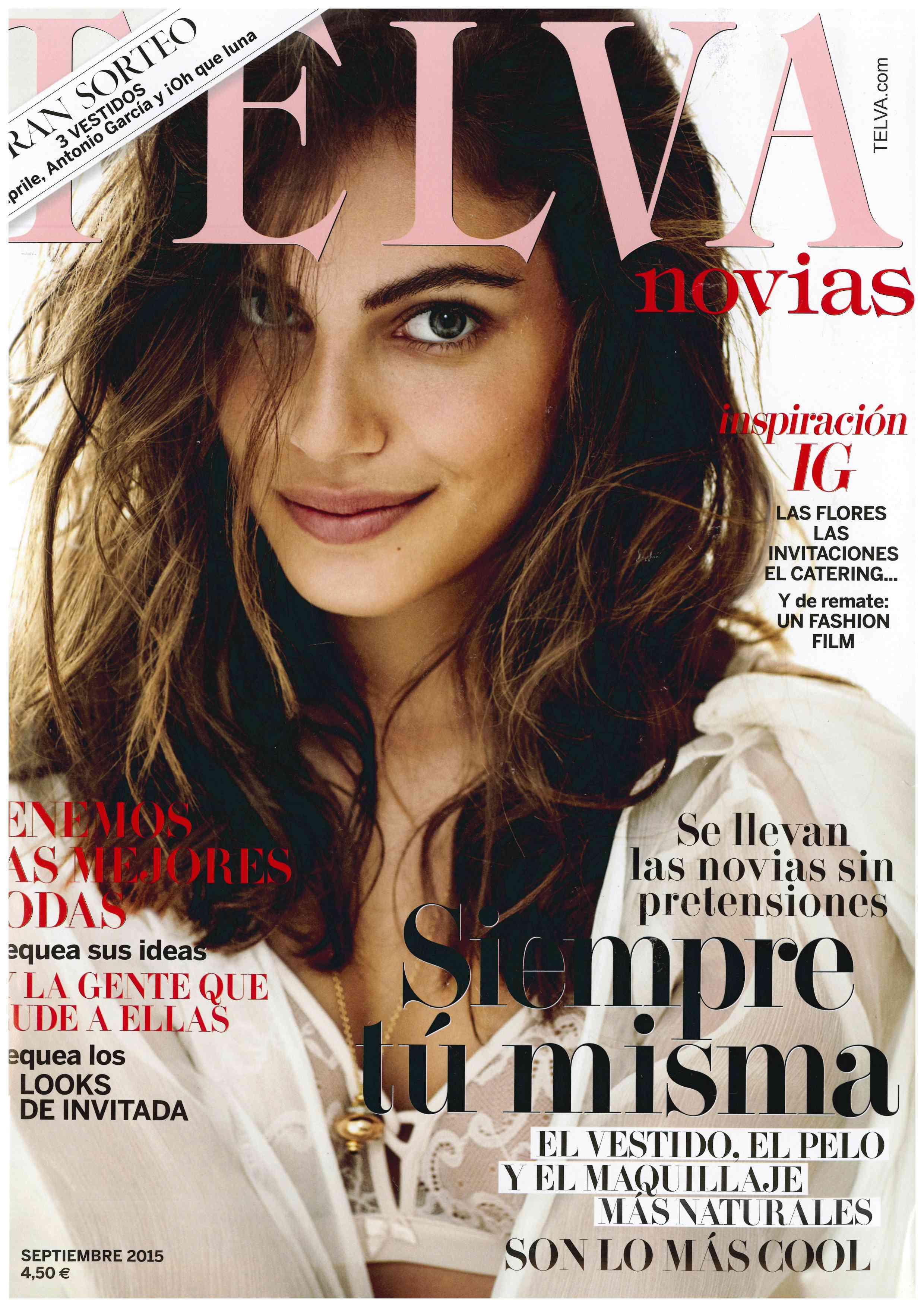 Telva Novias Septiembre 2015